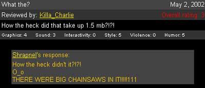 I love Shrapnel