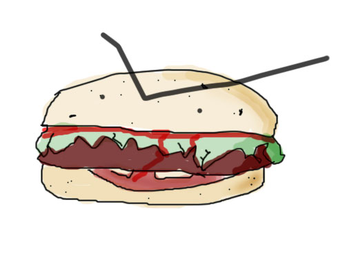draw: Sandwich. Or did you? Pffft, but you ever tried to draw an angry ...