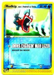 Create A Pokemon Card.