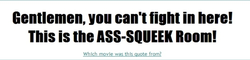 The Movie Quote Generator.