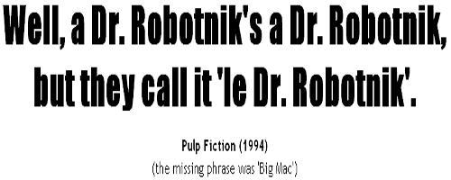 The Movie Quote Generator.