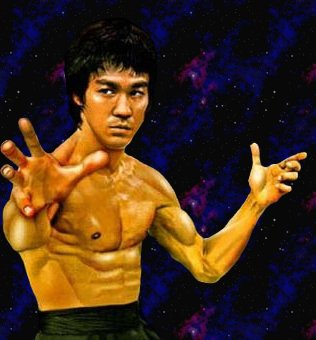 Bruce lee in outer space