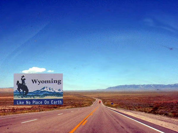 Wyoming Does Not Exist!