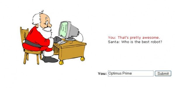 Racist Site Regarding Santa?