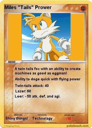 Create A Pokemon Card.