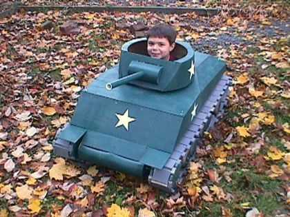 Как сделать танк чтобы ездить