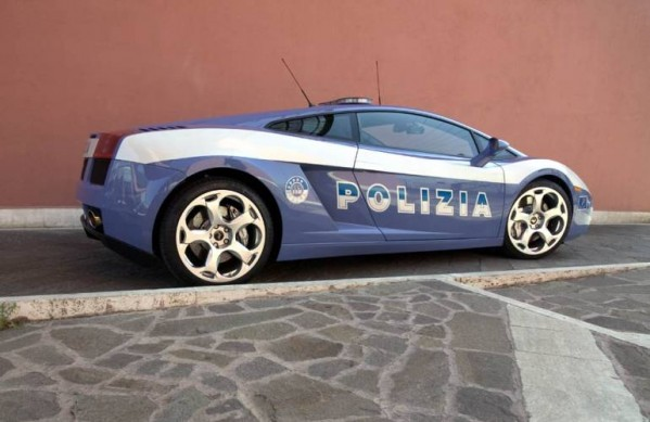 The worlds coolest cop car