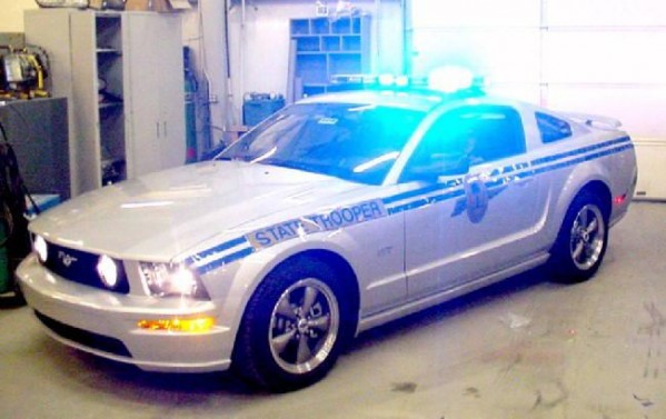 The worlds coolest cop car