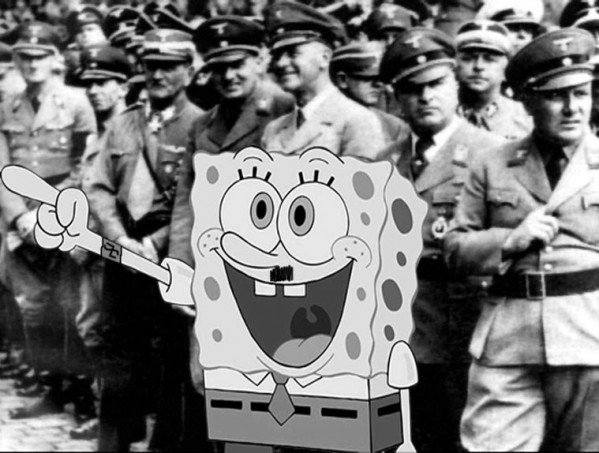 Photoshop Spongebob Squarepants.