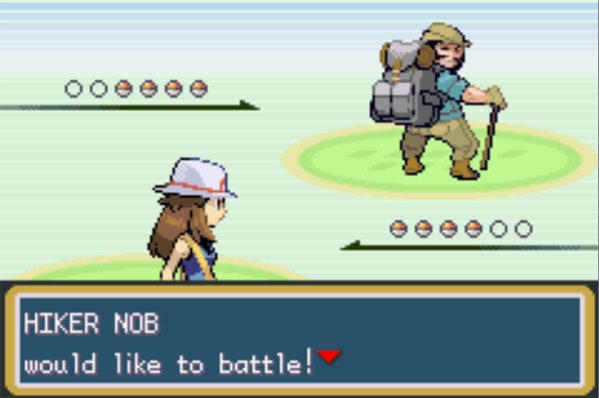 Hiker Nob Would Like To Battle