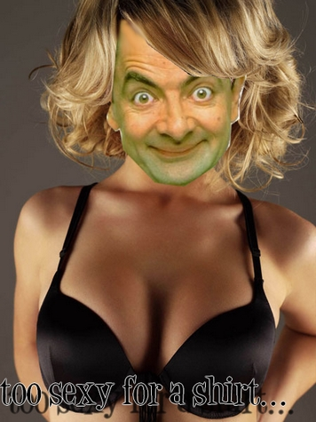 Photoshop Mr. Bean!