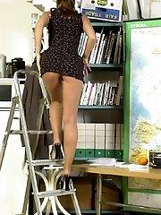 Ladder fetish