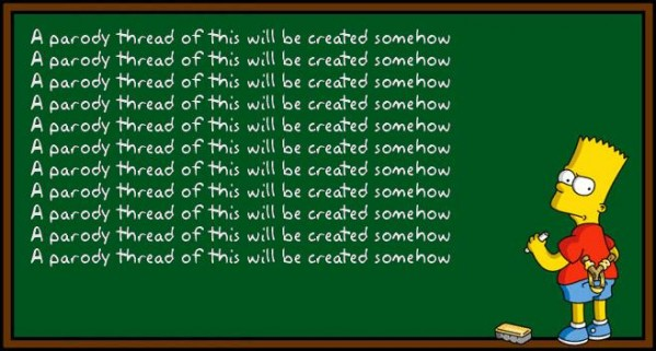 Bart Simpson Chalkboard Generator.