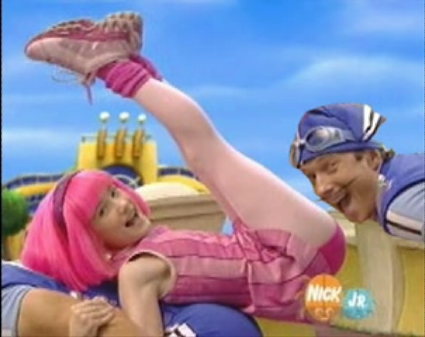 lazy town stephanie. Does Lazytown have sexual