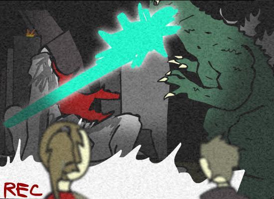 Godzilla vs. Cloverfield.