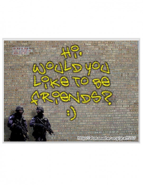 build your own graffiti sign