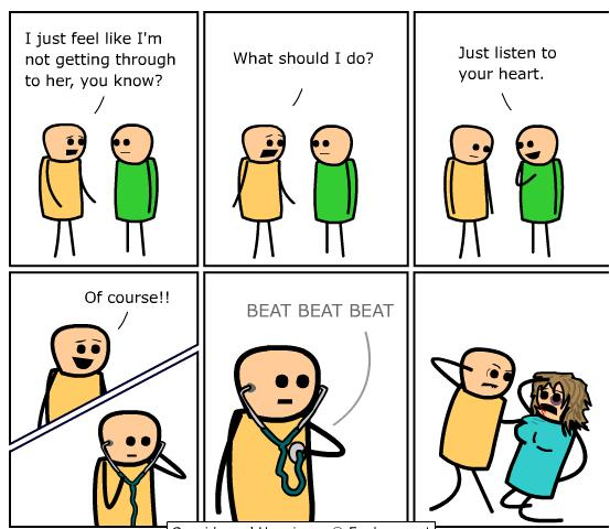 Wow. A C&H comic actually made me..