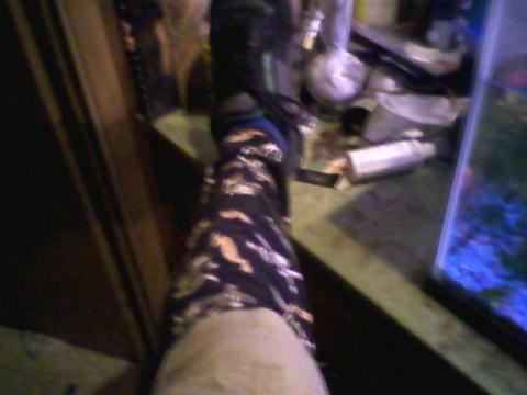 Socks in Sandles