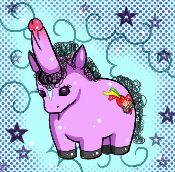 Unicorns with Dicks for Horns