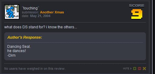 Replies from a newgrounds star