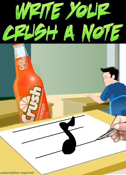 Write your crush a note