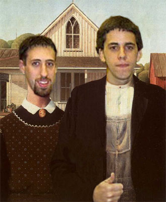 Photoshop American Gothic