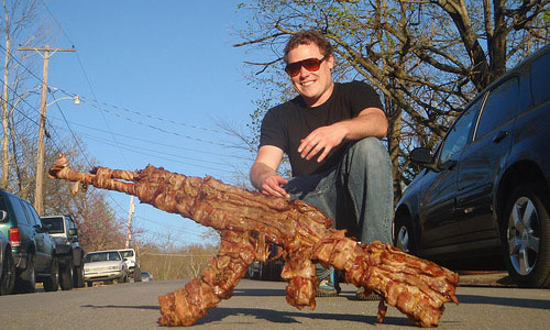 Bacon assault rifle