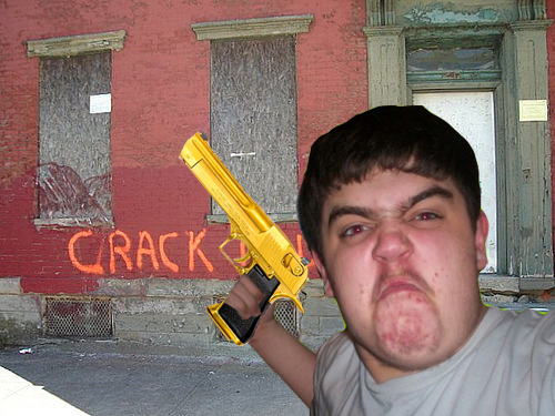 Photoshop the Angry Fat kid