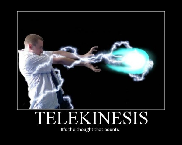 telekinesis, Is it Possible ?