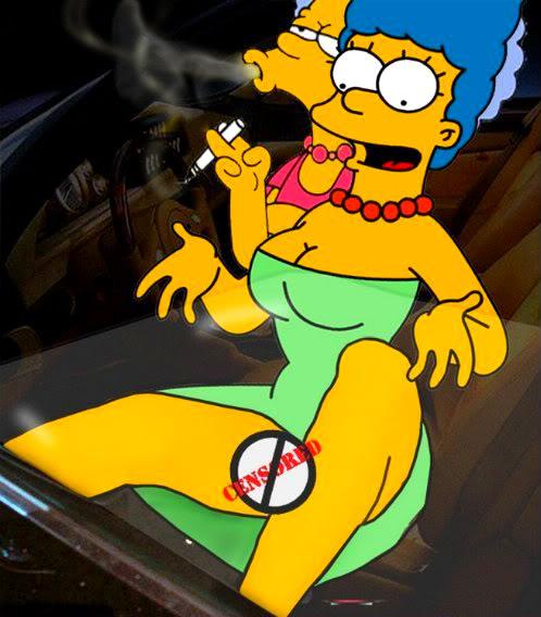 Marge simpson on Playboy. I'm back, I'm back, I'm back, I'm back, I'm back, ...