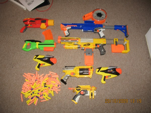 Super Soakers and Nerf