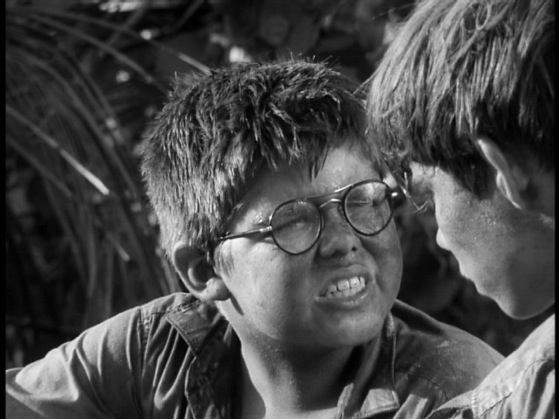 Ralph and Piggy From Lord of the Flies