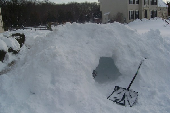 I Made an Igloo!!!