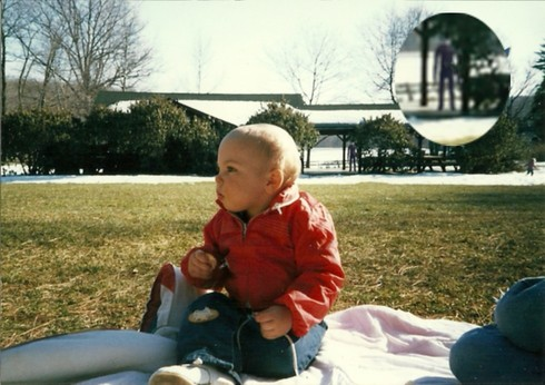 Strange childhood photos