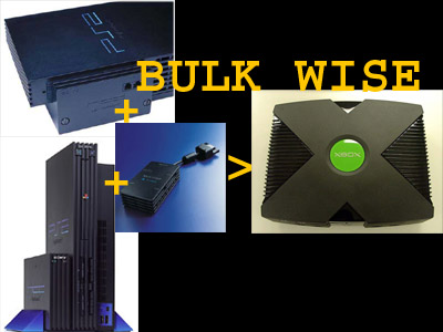Screens Zimmer 2 angezeig: xbox 1 vs ps2