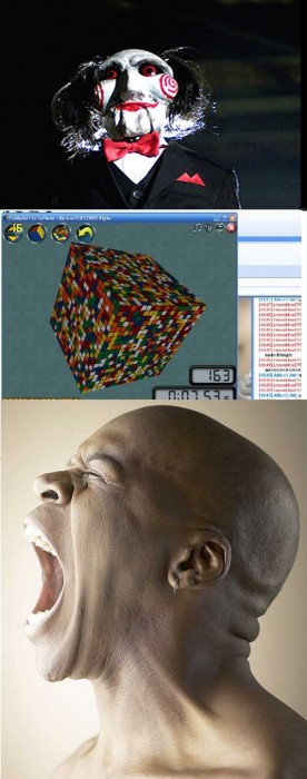 20x20x20 Rubik's cube