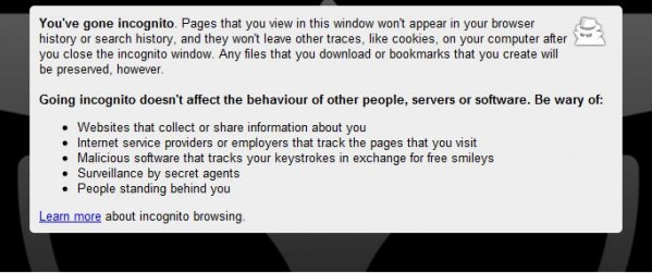 Okjust found this on google chrome, after a visit to a certain