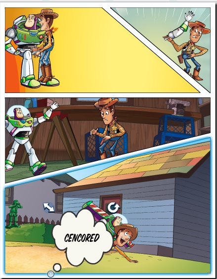 The Toy Story 3 Comic Creator