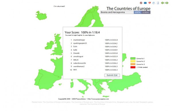 How well do you know Europe?