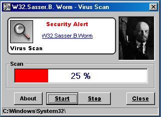 windows sasser: