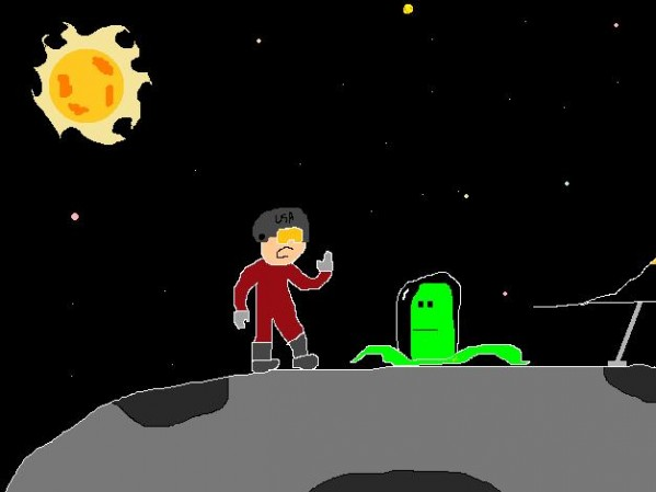 Ms Paint Space Adventure!