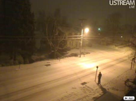 Snow storm = snow cam!