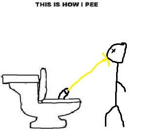 how do you pee?