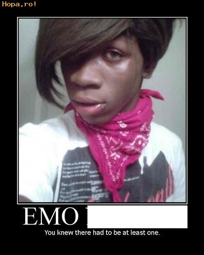 Emo Black People