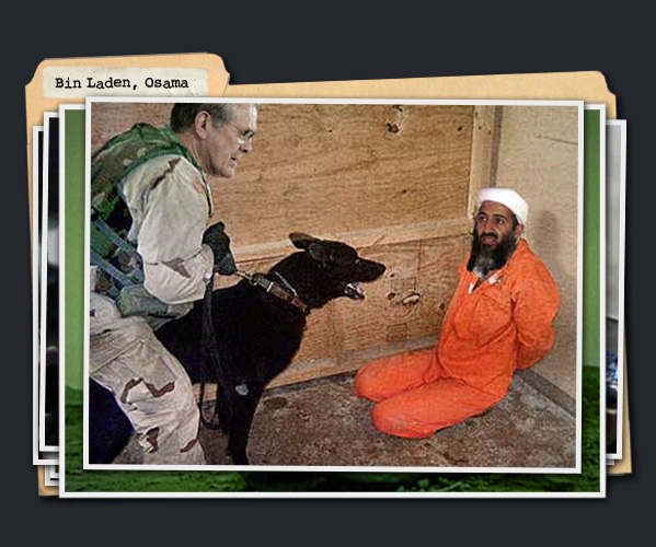 :top secret: Osama Porn Raid Photos
