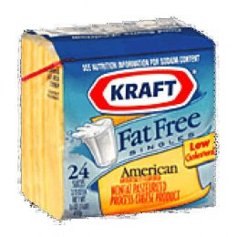 Fat free cheese slice