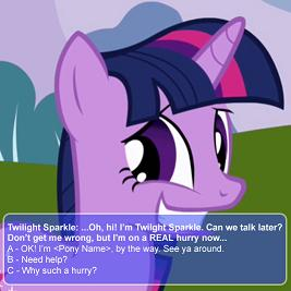 Mlp Dating Sim...