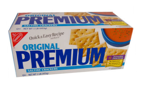 Saltine Cracker Box