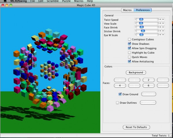4D Rubiks