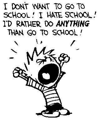 Fucking school Tommorow :(